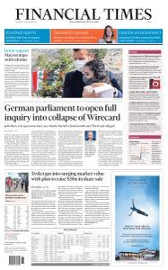 Financial Times Europe - September 2, 2020