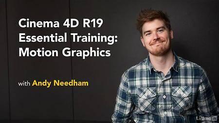 Lynda - Cinema 4D R19 Essential Training: Motion Graphics