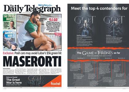 The Daily Telegraph (Sydney) – April 15, 2019