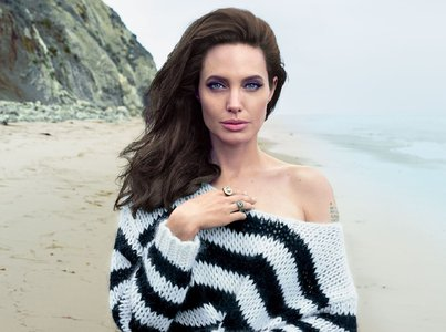 Angelina Jolie by Annie Leibovitz for Vogue US November 2015