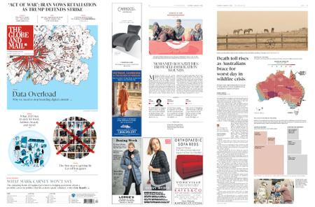 The Globe and Mail – January 04, 2020