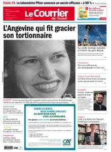 Le Courrier de l'Ouest Angers – 10 novembre 2020