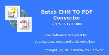 Batch CHM to PDF Converter 2019.11.721.1914
