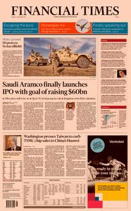 Financial Times Europe – 04 November 2019