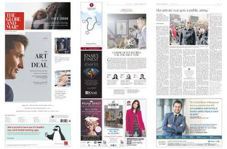 The Globe and Mail – September 08, 2018