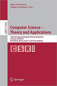 Computer Science – Theory and Applications: 14th International Computer Science Symposium in Russia, CSR 2019, Novosibir