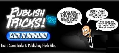Cartoon Smart - Action Script 3 Publish Tricks