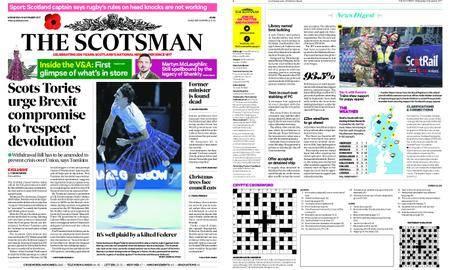 The Scotsman – November 08, 2017