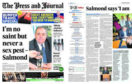 The Press and Journal Moray – August 25, 2018