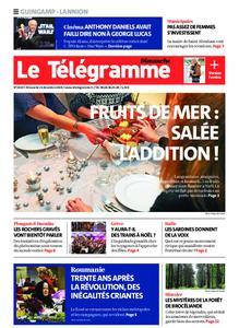 Le Télégramme Guingamp – 15 décembre 2019