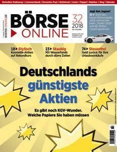 Börse Online - 9 August 2018