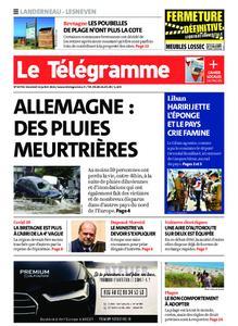 Le Télégramme Landerneau - Lesneven – 16 juillet 2021