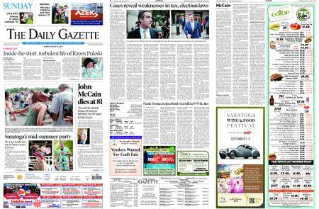 The Daily Gazette – August 26, 2018