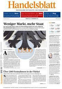 Handelsblatt - 13. Dezember 2016