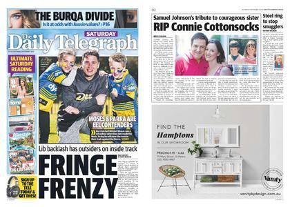The Daily Telegraph (Sydney) – September 09, 2017
