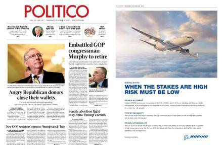 Politico – October 05, 2017