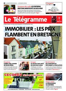 Le Télégramme Landerneau - Lesneven – 17 avril 2021