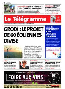 Le Télégramme Auray – 10 septembre 2020