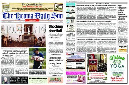 The Laconia Daily Sun – November 30, 2017