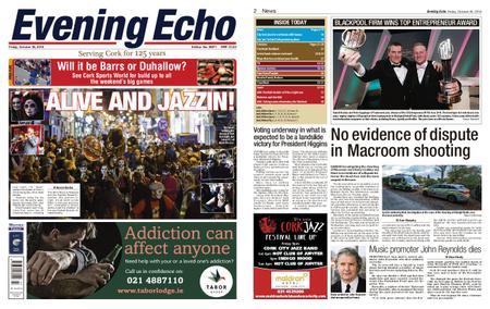 Evening Echo – October 26, 2018