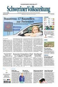 Schweriner Volkszeitung Hagenower Kreisblatt - 29. Juni 2018