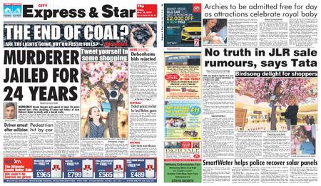 Express and Star City Edition – May 10, 2019