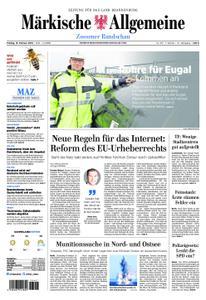 Märkische Allgemeine Zossener Rundschau - 15. Februar 2019