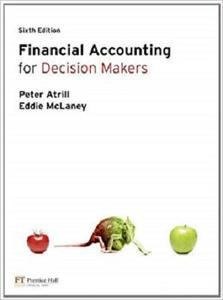 Financial Accounting for Decision Makers (6th Edition) by Peter Atrill (2010-08-12)