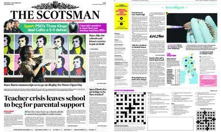 The Scotsman – September 13, 2017