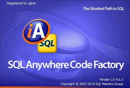 SQL Maestro ASA Code Factory 17.4.0.3 Multilingual