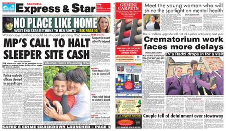 Express and Star Sandwell Edition – September 10, 2019