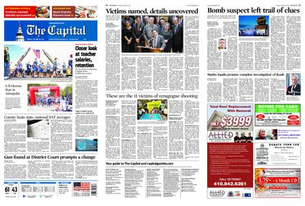 The Capital – October 29, 2018