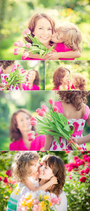 Stock Photo - Mother & Daughter