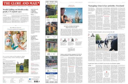 The Globe and Mail – September 16, 2020