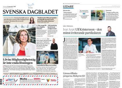 Svenska Dagbladet – 03 september 2018