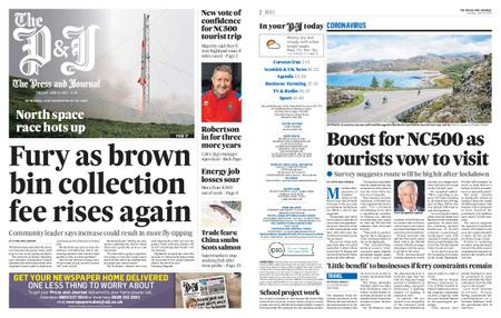 The Press and Journal Moray – June 16, 2020