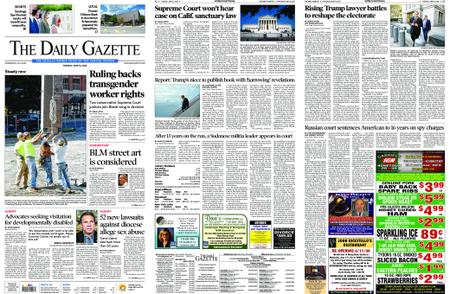 The Daily Gazette – June 16, 2020