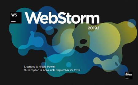 JetBrains WebStorm 2019.1.3