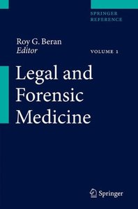 Legal and Forensic Medicine (repost)