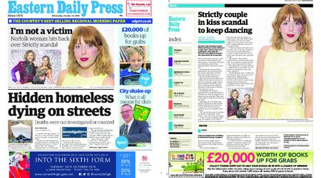 Eastern Daily Press – October 10, 2018