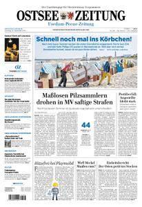 Ostsee Zeitung Wolgast - 18. September 2018