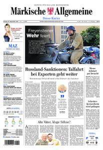 Märkische Allgemeine Dosse Kurier - 18. September 2017