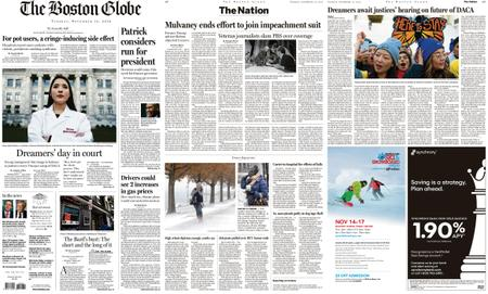 The Boston Globe – November 12, 2019