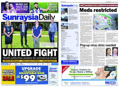 Sunraysia Daily – March 21, 2020