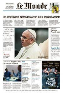 Le Monde du Dimanche 20 et Mardi 22 Mai 2018