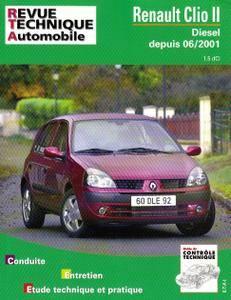 RTA - Renault Clio II Diesel Phase 2 depuis 6-2001