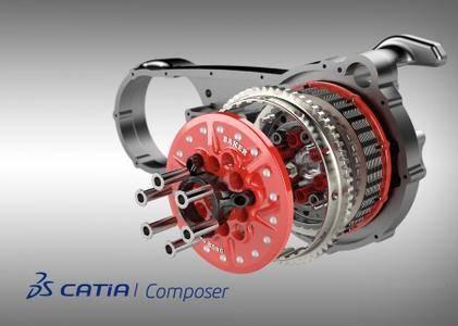 DS CATIA Composer R2019