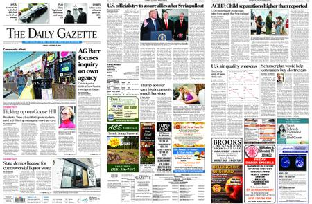 The Daily Gazette – October 25, 2019