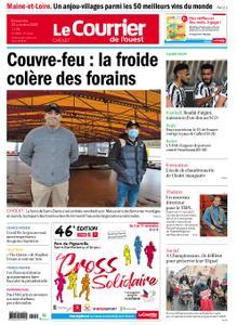 Le Courrier de l'Ouest Cholet – 25 octobre 2020