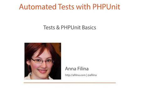 Automated Tests with PHPUnit [repost]